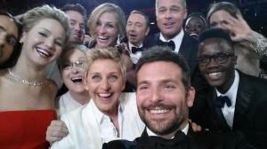 Oscars 2014 y el selfie más famoso